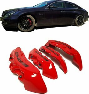 Amg Style Red Brake Caliper Covers Fit Almost All Mercedes Benz For 19 Inch Rim