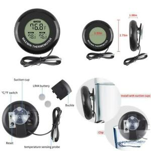 Ethmeas Mini Lcd Indoor Outdoor Digital Thermometer Round Shape With Max min Tem