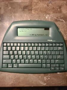 Alphasmart Neo Keyboard Tested And Working Word Processor With Usb Cable