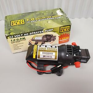 Fimco 12v High flo Ag Sprayer Pump 1 0 Gpm 12v 5275086 3 5 Psi Max Pressure New