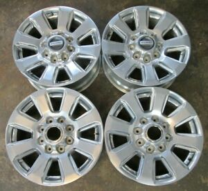 set 4 20 Ford F 250 F 350 Factory Wheels Rims Factor Wheels Ford F 250 Great