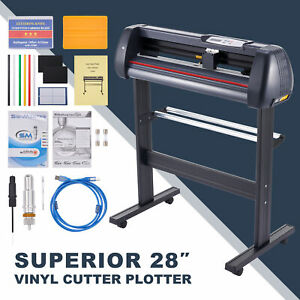 31in sec Vinyl Cutter Machine 28 Inch Feed Sign Maker Cutting Kit W Signmaster