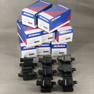 Set Of 8 New Acdelco Ignition Coils For General Motors Isuzu Bsc1208