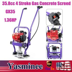 Gx35 Gas Concrete Power Wet Screed Cement 4 stroke Enginewet Power Screed Cement