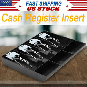 Cash Register Drawer Box Tray Replacement Cashier W Clip For Store Supermarket