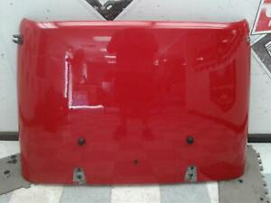 2007 2012 Jeep Wrangler Hood Oem Waves And Ding Red