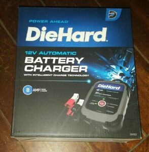Diehard 12v Automatic Battery Charger With Intelligent Charge Technology Dh152
