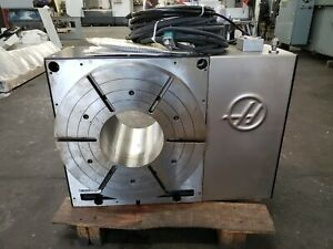 Haas Hrt 450 Brushless 4th Axis Rotary Table Indexer 2014