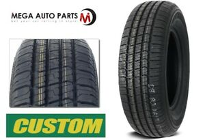 1 New Custom 428 A S P215 75r15 100s Wsw All Season Performance Tires