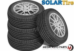 4 X Solar 4xs 215 60r15 93h All Season Performance 45k Mileage Tires