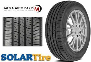 1 X Solar 4xs 215 65r15 95h All Season Performance 45k Mileage Tires