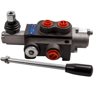 1 Spool Hydraulic Control Valve Double Acting Cylinder Max Flow 11gpm 4300 Psi