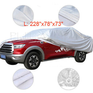 Full Pickup Truck Cover Outdoor Breathable Waterproof Fit For Ford F 150 Pickup