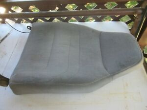 92 96 Ford F150 F250 Bronco 97 F350 Left Front Seat Back Complete Xlt Gray Oem