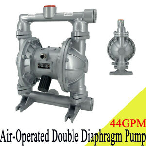 44gpm Air operated Double Diaphragm Pump 1 1 2 Inlet Outlet Industrial Fluid