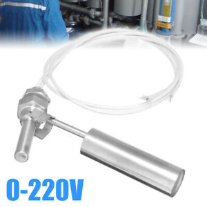 Liquid Water Switch Level Sensor Stainless Steel Float Switch M10 Thread 0 220v