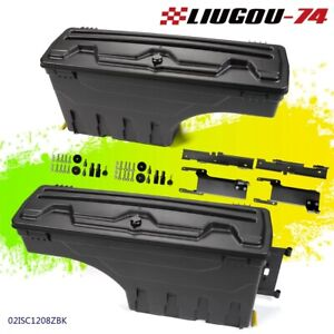 Left Right For F 150 2015 2016 2017 2018 2019 Truck Bed Storage Box Toolbox Us