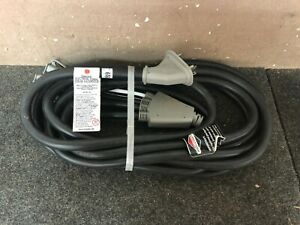 Briggs Stratton 25ft 20 Amp Generator Adapter Cord Set 4 Outlets New