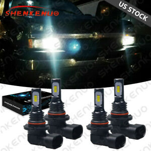 6000k Led Headlights Lights Bulbs For Chevy Silverado 1500 2500hd 3500 1999 2006