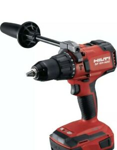 New Edition Hilti Sf 6h a22 Cordless Hammer Drill 2 6 Ah Battery Charger Combo
