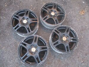 Set Of Oem 2002 2005 Subaru Impreza Wrx Aluminum Wheels 16x6 5 Singles Avail