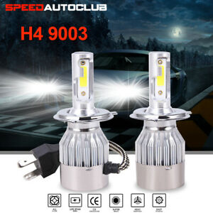2x H4 Hb2 9003 2600w 390000lm Led Headlight Kit Hi lo High Power Bulbs 6000k Car