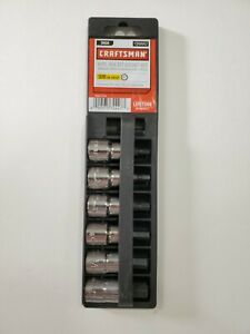 Craftsman 6 Piece Sae Standard Hex Bit Socket Set 3 8 Drive 34447