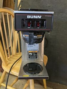 Bunn Commercial Coffee Maker Two Warmers Vp17 2 13300 0002