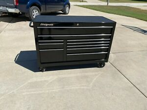 Snap On 55 10 Drawer Double Bank Classic Series Roll Cab Gloss Black Kra2422pc