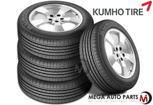 4 New Kumho Solus Kh16 P225 65r17 100h All Season Grand Touring 60000 Mile Tires