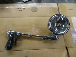 Vintage Unity Model H1 Chgo Usa Chrome Spotlight 50s Police Truck Car Rat Rod