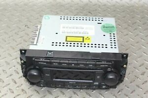 06 08 Ram 1500 Audio Radio Stereo Reciever Mp3 Aux Input W Hands Free Tuner Oem