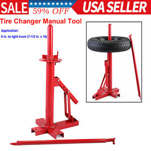 Car Truck Motorcycle Portable Tire Changer Manual Tool Tire Bead Breaker Lift