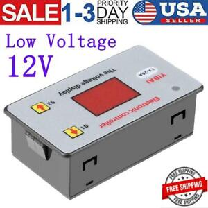 Dc 12v Low voltage Battery Cut Off Switch Controller Excessive Protection Module