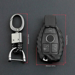 Car Key Case Cover Remote For Mercedes Benz C E G M R S Class Shell Fob Keychain