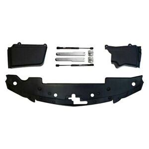 For Ford Mustang 2007 2009 California Pony Cars Black Engine Bay Dress Up Kit