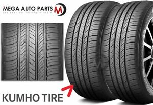 2 X Kumho Crugen Hp71 225 65r17 102v All Season Performance Tires 65k Mileage