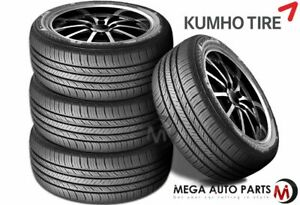 4 X Kumho Crugen Hp71 225 65r17 102v All Season Performance Tires 65k Mileage