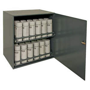 Durham Mfg 300 95 Wall Cabinet 21 3 4 H 20 1 4 W gray