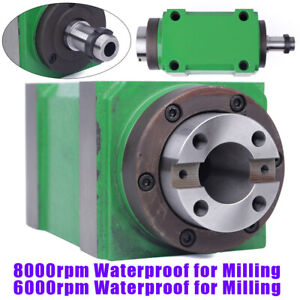 7 24 Taper Bt30 Mechanical Spindle Unit Power Head Cnc Drilling Milling Tool Hot