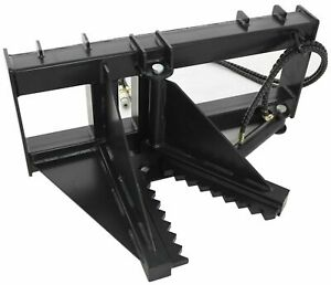 New Extreme Duty Universal Mount Skid Steer 12 Hydraulic Tree Post Puller
