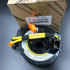 84306 50180 Oem Airbag Spiral Cable Clock Spring For Toyota Lexus Ls430 02 06