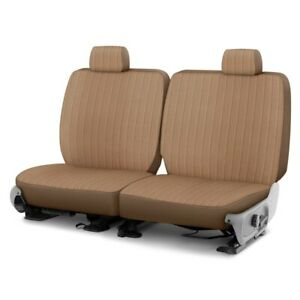 For Ford Crown Victoria 94 02 Madera 1st Row Sandstone Custom Seat Covers