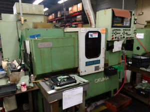 Okuma Model Lb 10m Live Tool Cnc Turning Center Cnc Lathe Assetexchangeinc