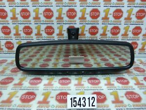 10 11 12 13 14 15 Toyota Prius Interior Autodim Rear View Mirror W Homelink Oem