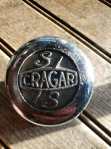 Vintage Cragar S s Center Cap 2 3 4 Diameter Pitting Chrome