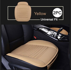 1 Pair Car Seat Cover Luxury Car Protector Universal Anti Slip Driver Seat Cover