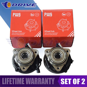 Set Of 2 Front Wheel Hub Bearing For Ford Explorer Sport Trac 2001 2004 2005