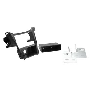 For Chevy Equinox 10 17 Stereo Dash Kit Double Din Black Stereo Dash Kit With
