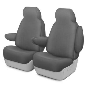 For Ford Crown Victoria 95 02 Grandtex 1st Row Gray Custom Seat Covers